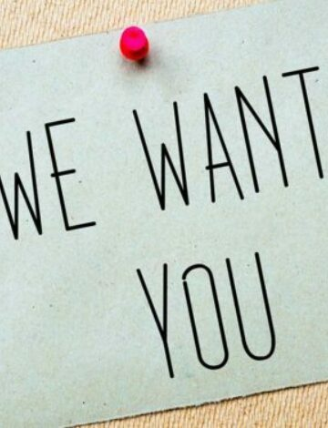 We want you vacature